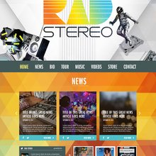 RAD Stereo Home page